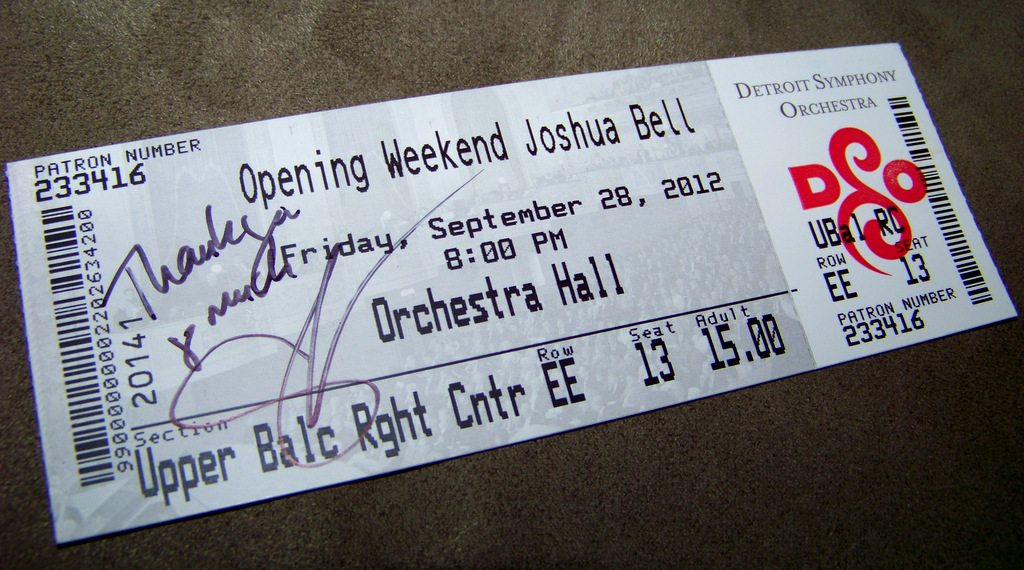 dso-opening-night-2012-at-orchestra-hall-viii-upper-balcony-ticket-with-sasha-cooke-autograph