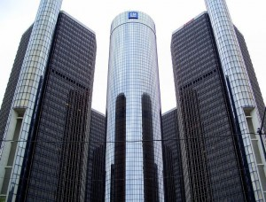 detroit renaissance center downtown detroit michigan