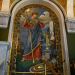 Library of Congress detail 'Minerva of Peace'