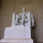 Lincoln Memorial detail, Washington, D.C