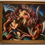 'People of Chilmark' by Thomas Hart Benton