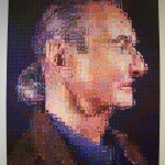 'Roy II' by Chuck Close