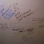 'Tune Inn' bathroom graffiti