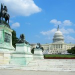 US Capitol with Ulysses S. Grant National Memorial
