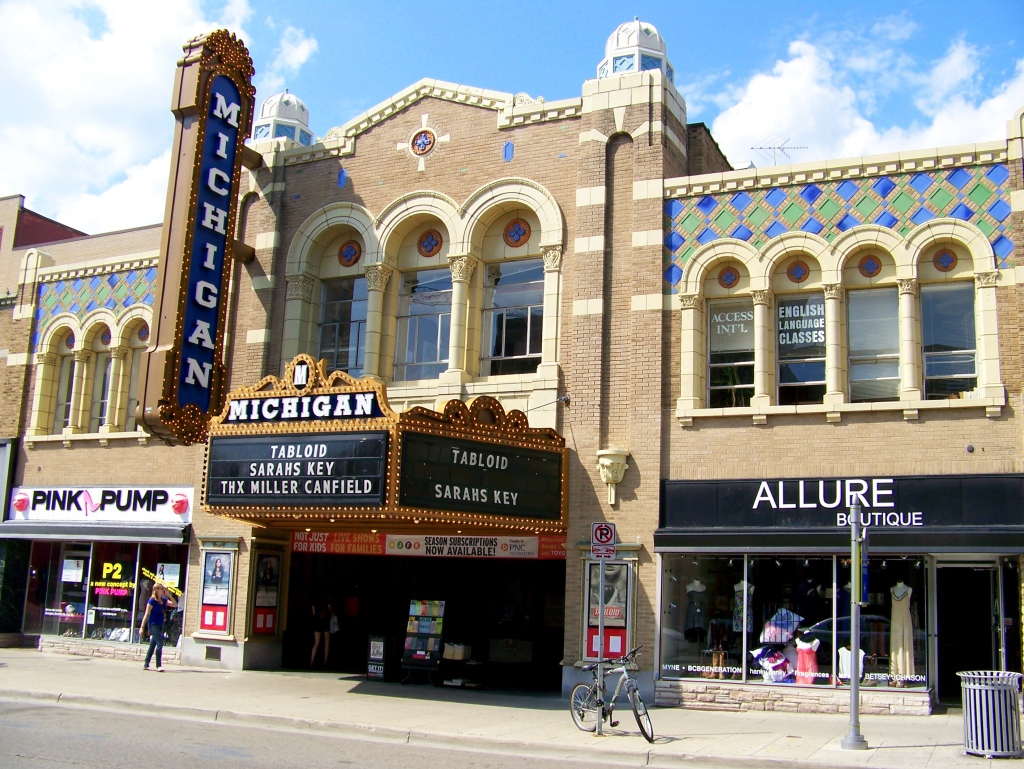 The Michigan Theater – Ann Arbor, Michigan