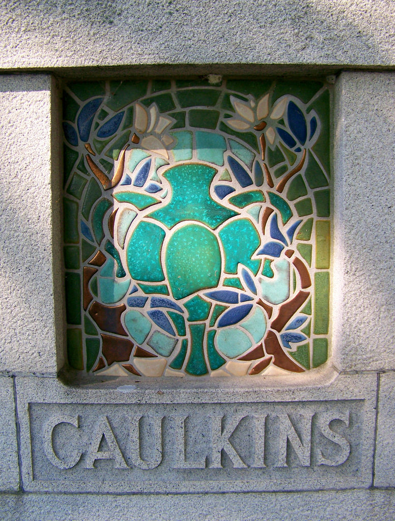 At Pewabic Pottery And The Developer Of S Revolutionary Revelation Kiln We Re Told That Stratton Herself Designed Fired Tiles