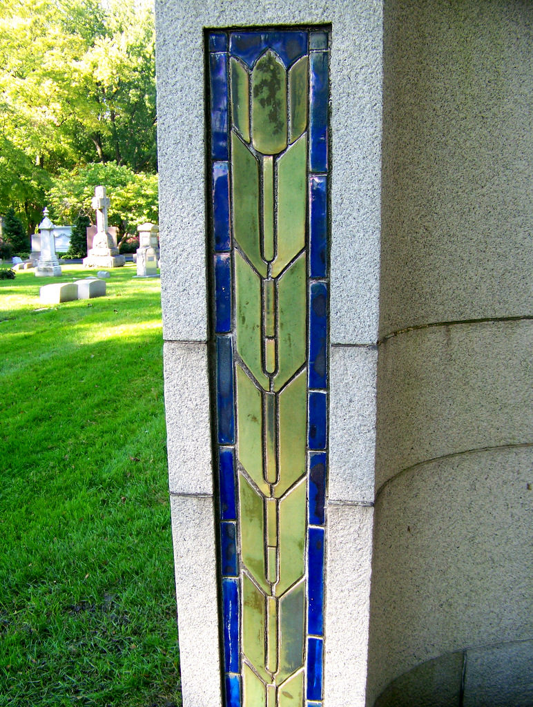 I love detroit mi 30 pewabic pottery artworks in detroit were told that stratton herself designed and fired the pewabic tiles for this monument dailygadgetfo Choice Image