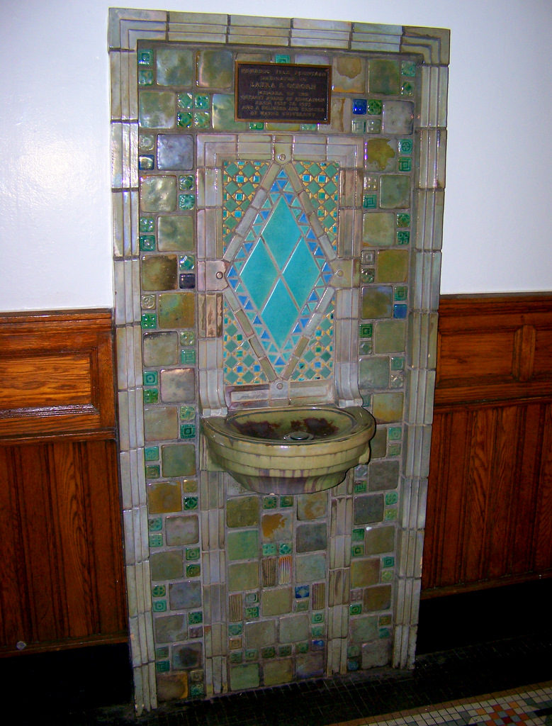 I love detroit mi 30 pewabic pottery artworks in detroit cass warren avenue detroit dailygadgetfo Choice Image