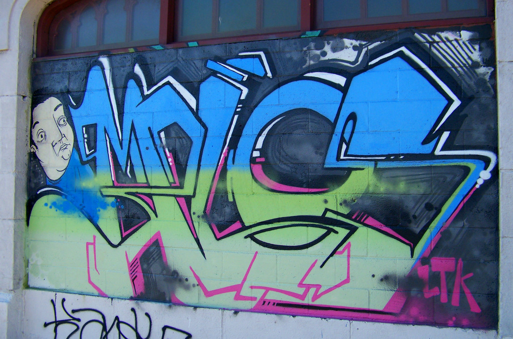 4731 Grand River Graffiti #1