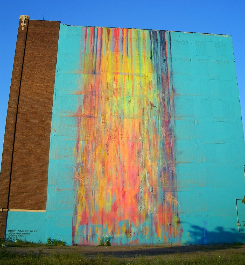 50 Outdoor Murals In Detroit 6