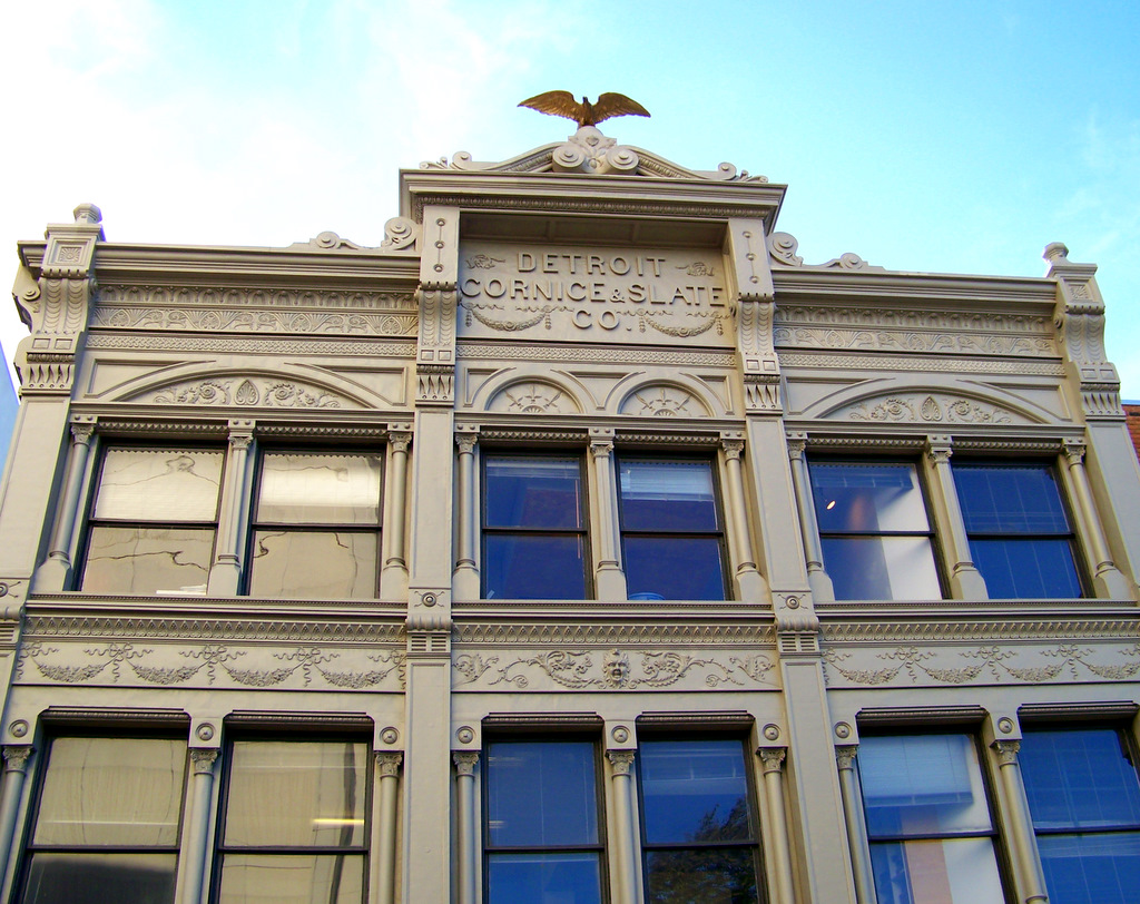 Detroit Cornice and Slate Company Building – Detroit, Michigan