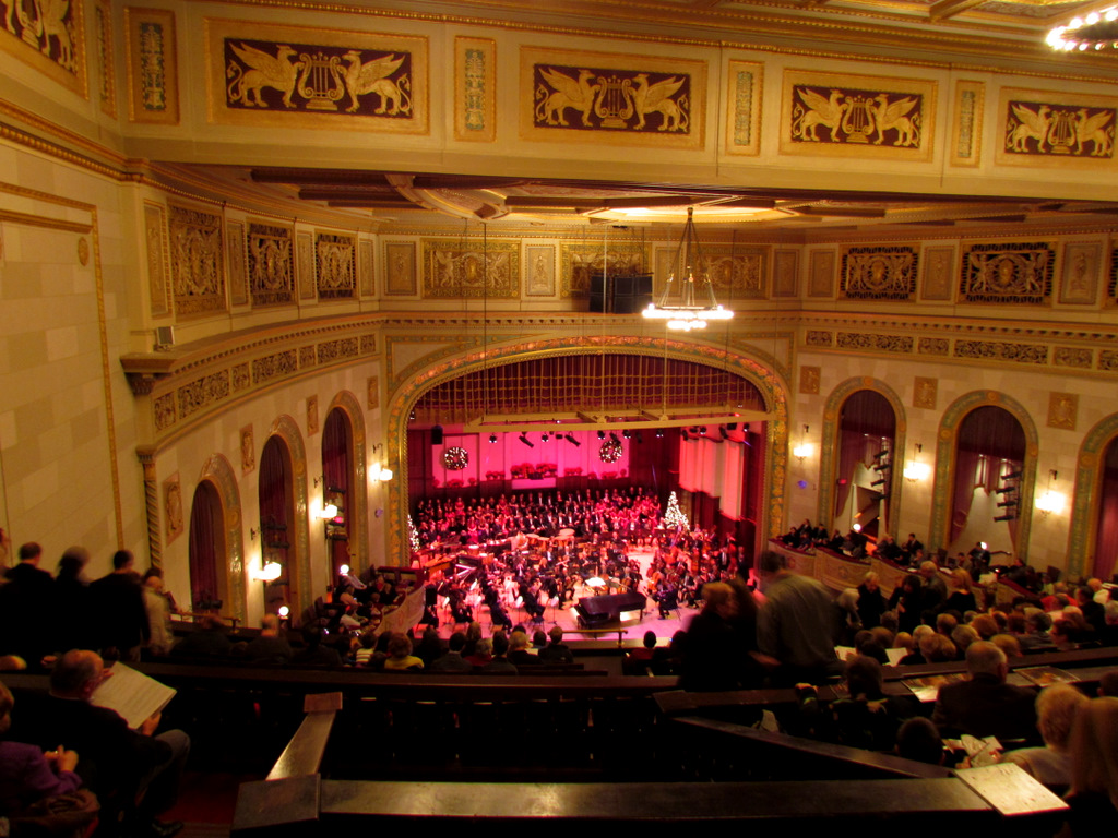 "Detroit Symphony Orchestra: ""Home For The Holidays"" – Orchestra Hall, Detroit 12-17-2011"