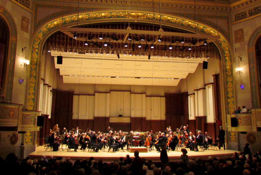 DSO with Conrad Tao and Hélène Bouchez at Orchestra Hall, Detroit, 1-20-2012