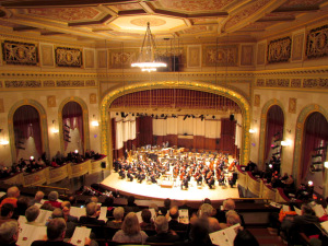 DSO with Julian Rachlin at Orchestra Hall, Detroit, 2-11-2012 #1