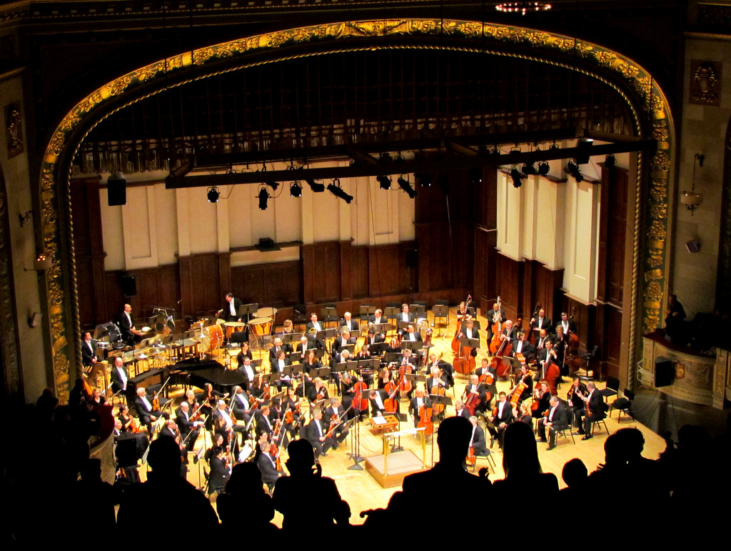 DSO with Julian Rachlin at Orchestra Hall, Detroit, 2-11-2012 #2