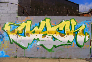 Detroit Graffiti at Grand River Avenue and Vermont Street 12