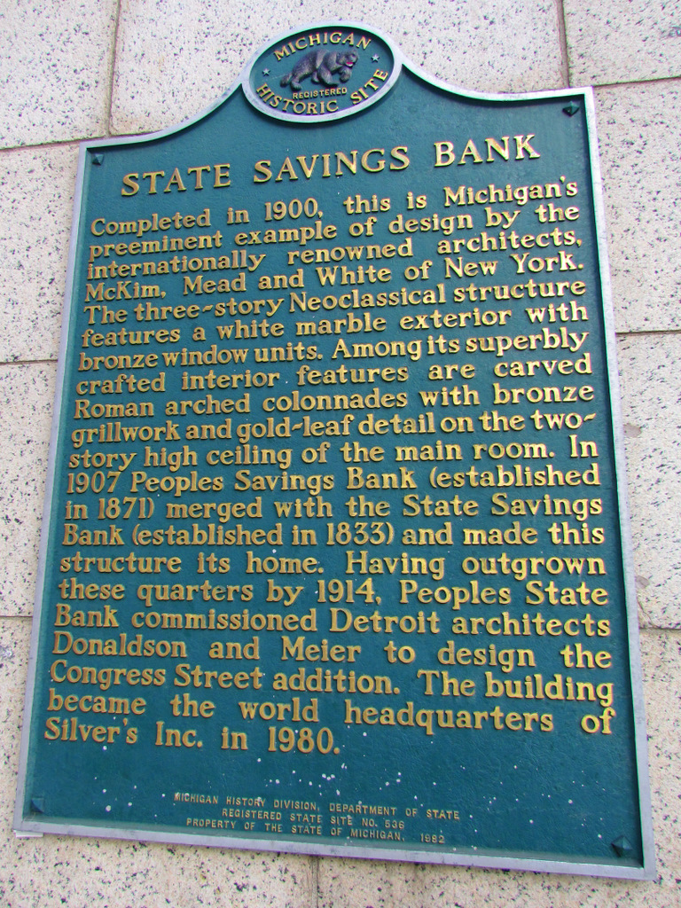 State Savings Bank Building 7