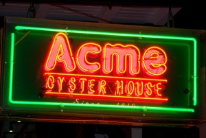 Acme Oyster House New Orleans
