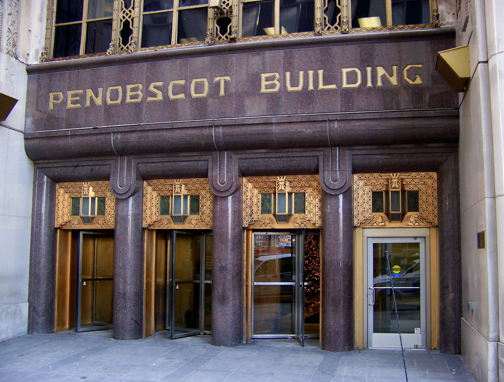 The Penobscot Building – Detroit, Michigan