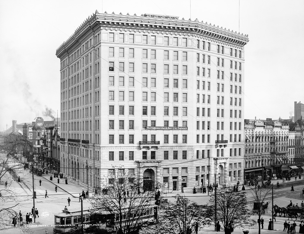 Hotel Pontchartrain 1907 LOC photo