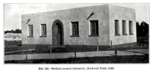 15 0 Rockwell Field Medical Research Lab CA c1918 GPO 1923