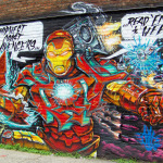 New Detroit Graffiti in the St Andrews Hall Alley 10