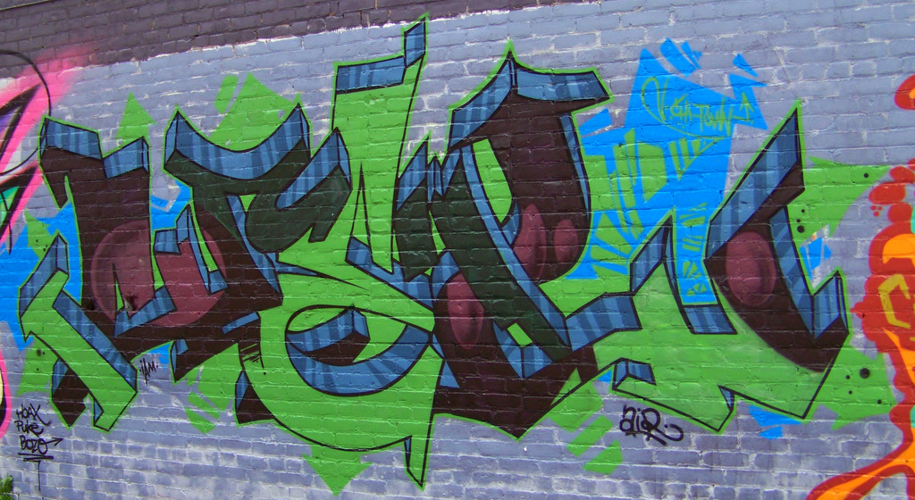 New Detroit Graffiti in the St Andrews Hall Alley 7
