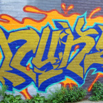 New Detroit Graffiti in the St Andrews Hall Alley 8