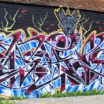 New Detroit Graffiti in the St Andrews Hall Alley 9