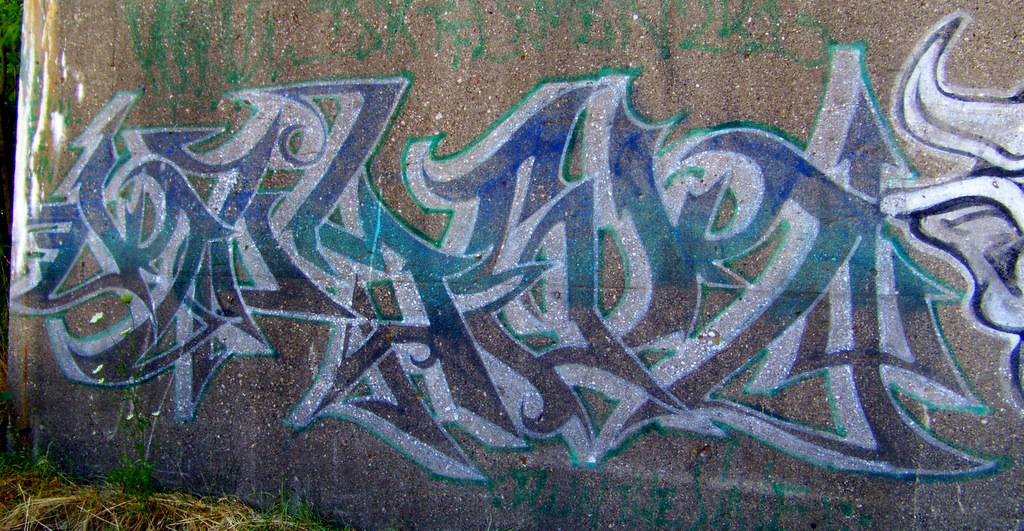 Vintage Detroit Graffiti Near MLK & West Grand Blvd #5