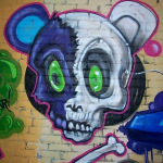 Vintage Detroit Graffiti in the St Andrews Hall Alley 3