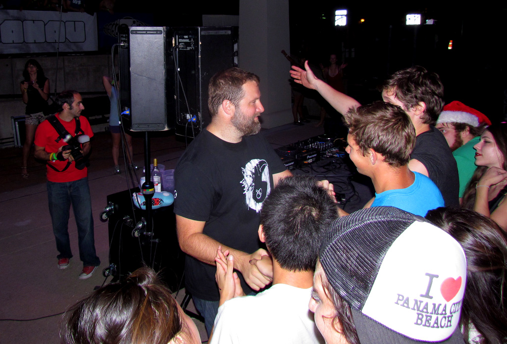 Claude VonStroke @ New Center Park, Detroit, 8-25-2012 #4