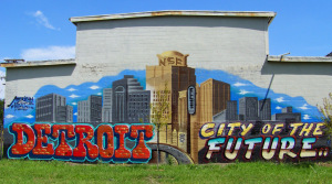 New Detroit Graffiti @ E Vernor & Beaufait #1.0