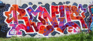 New Detroit Graffiti @ E Vernor & Beaufait #2