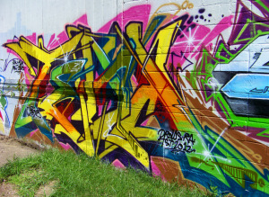 New Detroit Graffiti @ E Vernor & Beaufait #26