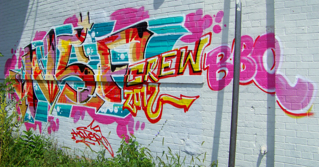 New Detroit Graffiti @ E Vernor & Beaufait #44
