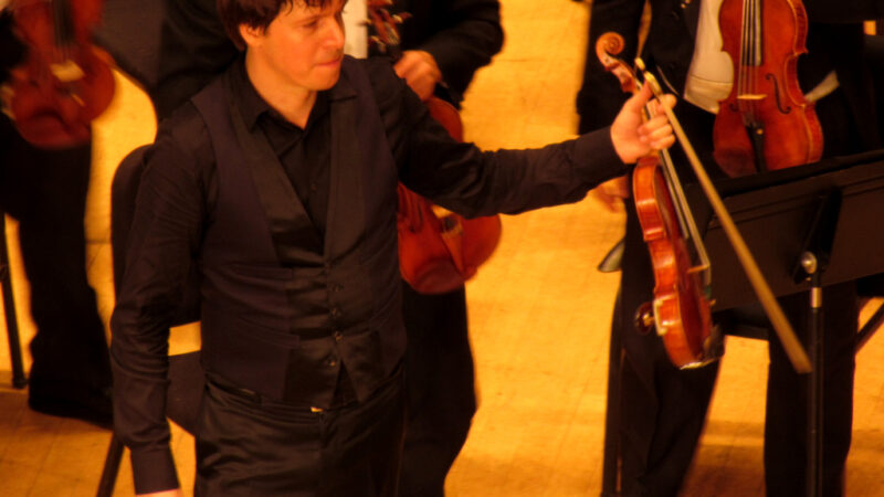 Detroit Symphony Orchestra Opening Night 2012 with Joshua Bell and Sasha Cooke