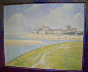 View of Le Crotoy from Upstream
