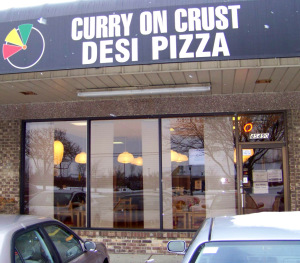 Curry On Crust Desi Pizza 1