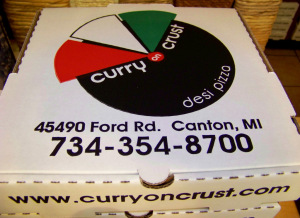 Curry On Crust Desi Pizza 2