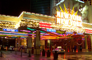 New York New York Entrance Pavilion Marquee