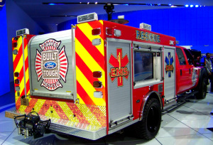 Ford F 550 Fire Rescue Truck II