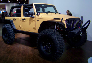 Mopar Customized Jeep Wrangler Sand Trooper