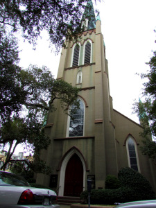 St Johns Episcopal Church Savannah Georgia 1