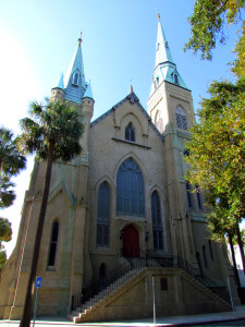 Wesley Monumental United Methodist Church Savannah Georgia 1