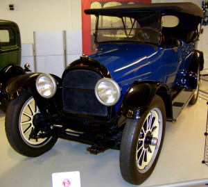 1917 Willys Knight Touring Car