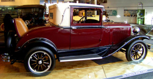 1928 Plymouth Model Q Deluxe Coupe I