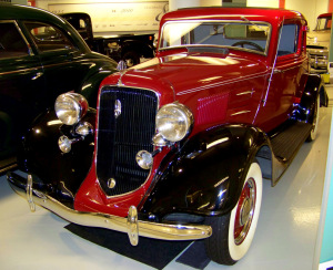 1934 Plymouth PE Deluxe Coupe