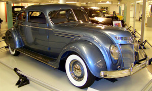 1937 Chrysler Airflow C17 Two Door Coupe I