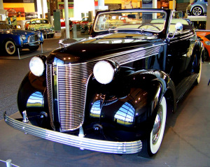 1937 Desoto Convertible Coupe I